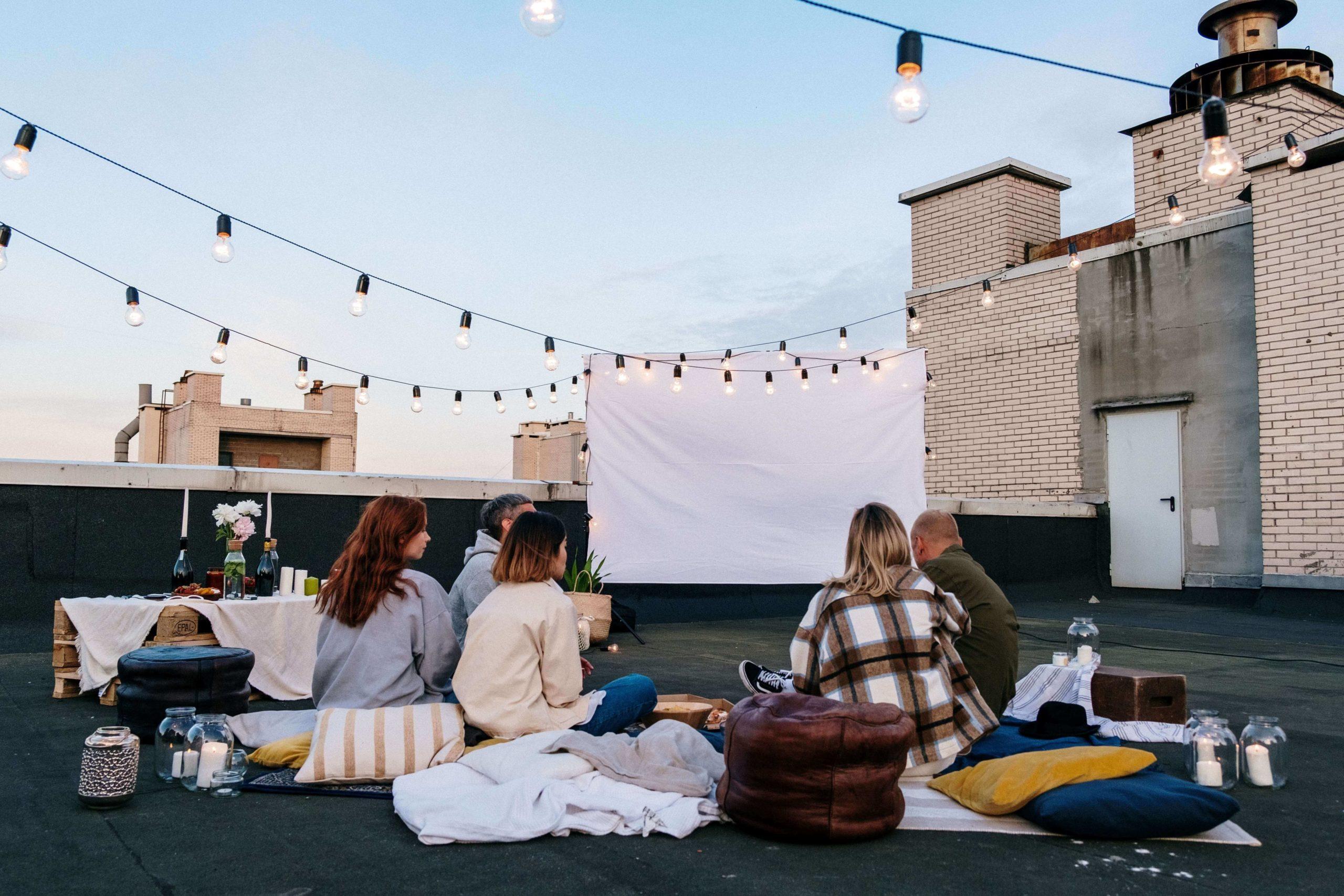 cines al aire libre