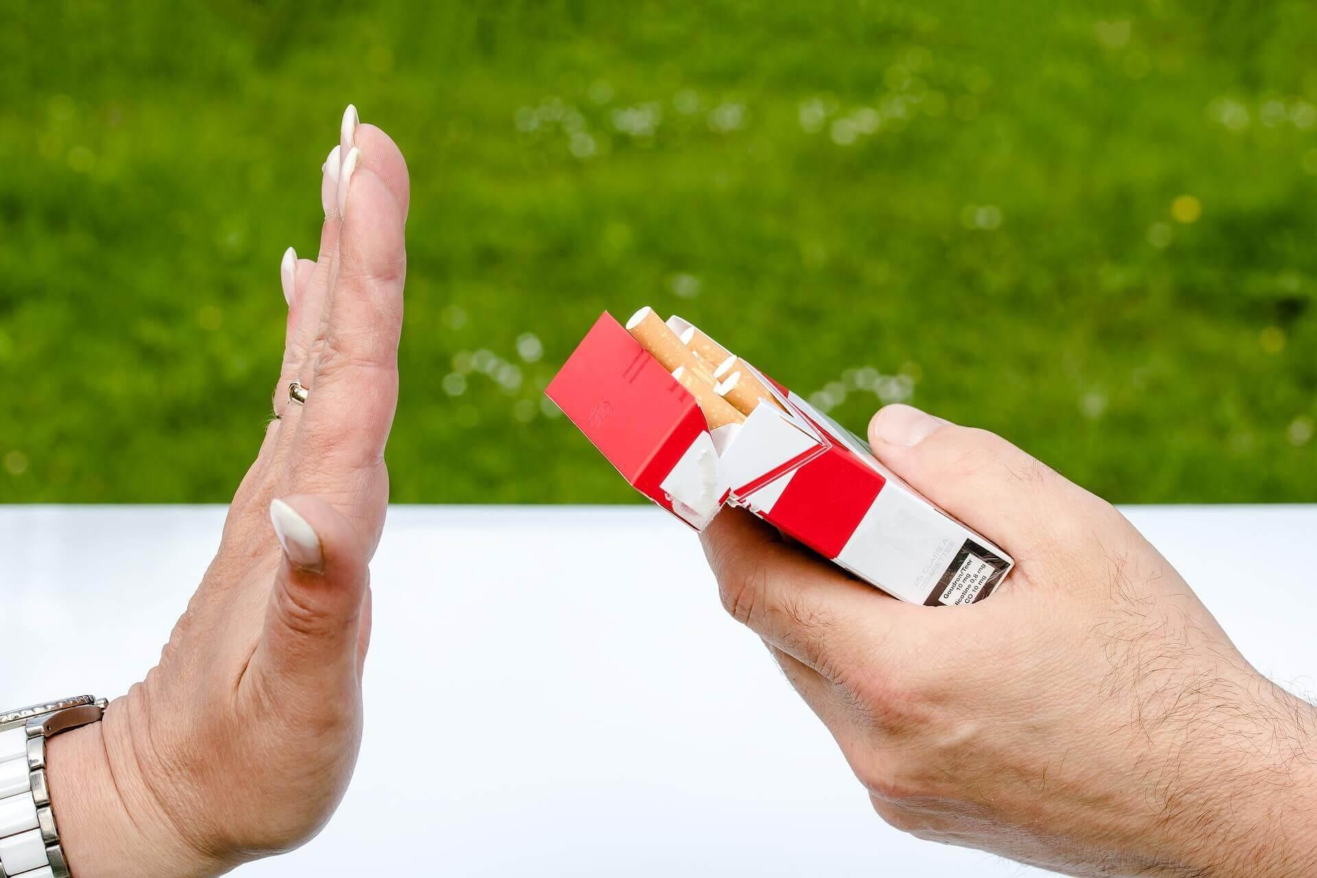 parche de nicotina